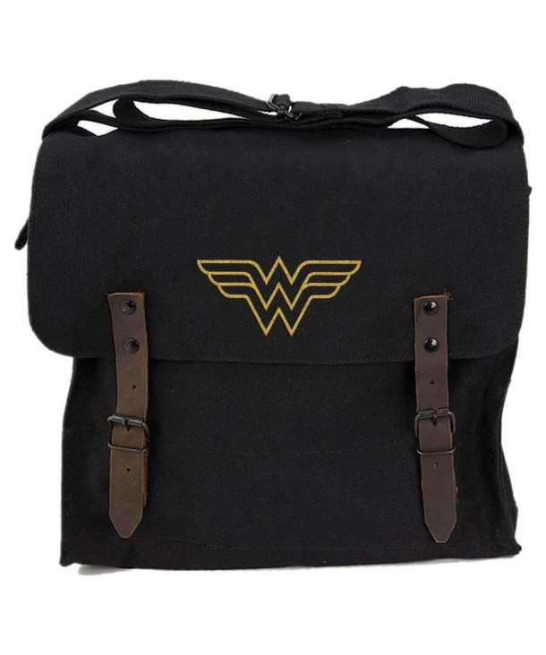 Wonder Symbol Heavyweight Canvas Shoulder