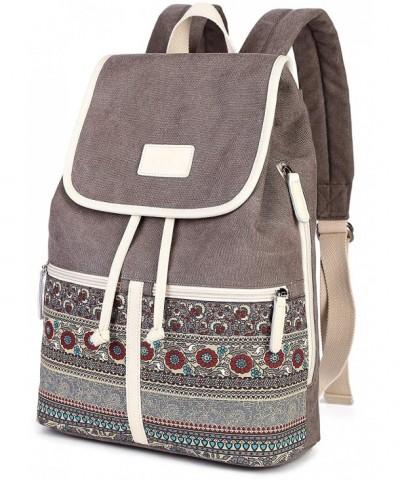 ArcEnCiel Backpack Canvas Rucksack Shoulder