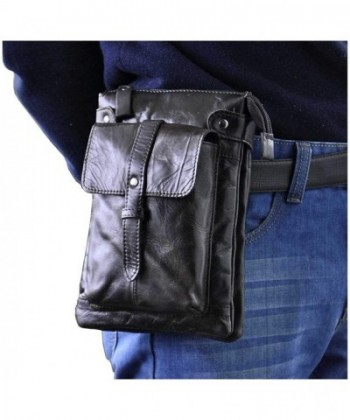 Leaokuu Genuine Leather Messenger Shoulder