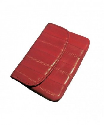 purse natural genuine eelskin wallet