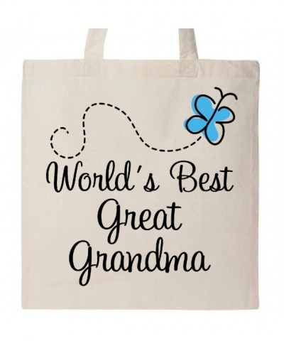 Inktastic Great Grandma Butterfly Natural