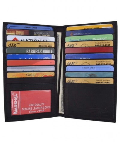 Leather Bifold Credit Holder 1529CF
