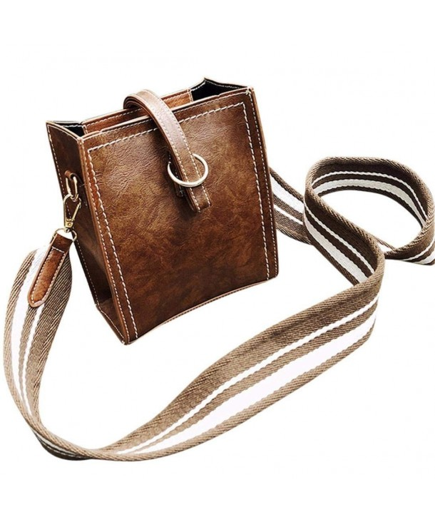 Todaies Leather Shoulder Messenger Crossbody