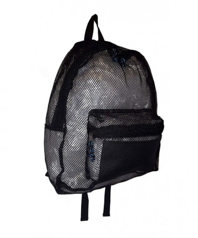 101 BEACH Large Black BackPack