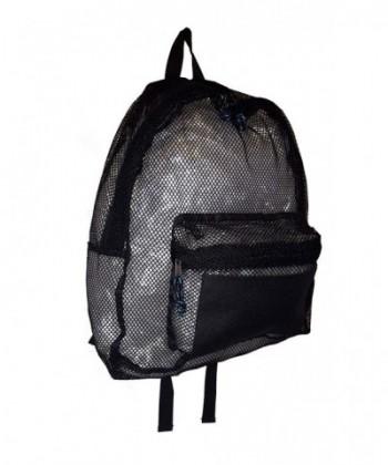 101 BEACH Large Black BackPack