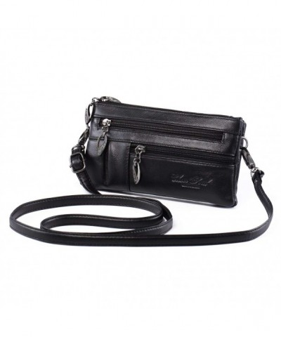 Crossbody Leather Wristlet Handbag Katloo