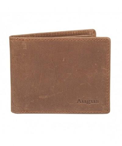 Augus Blocking Vintage Genuine Leather