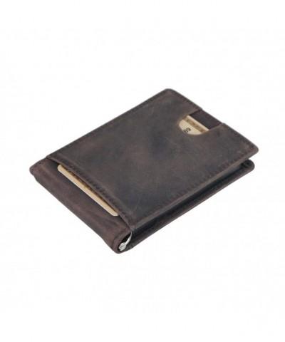 Polare Blocking Leather Wallet Designer