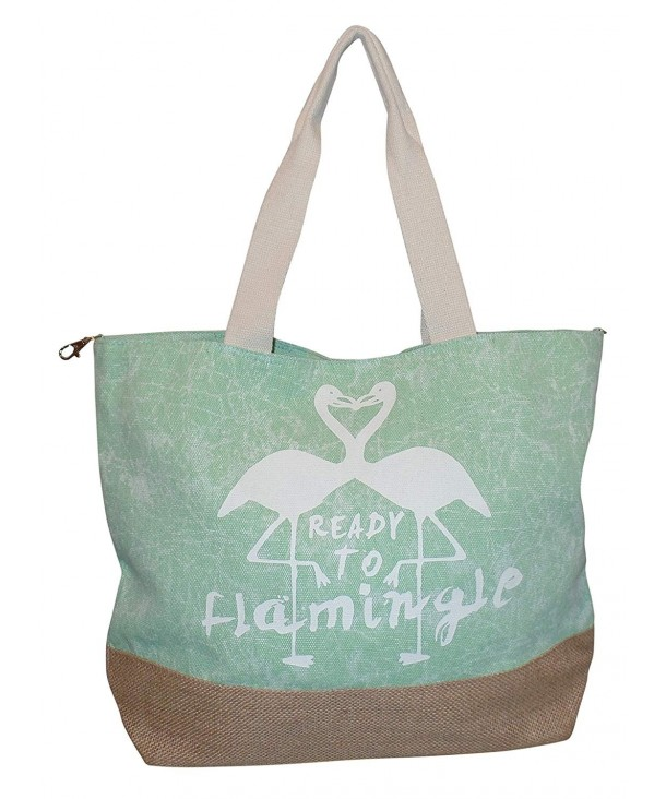 Ready Flamingle Fashion Beach Green