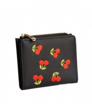 Nawoshow Wallet Cherry Pattern Holder