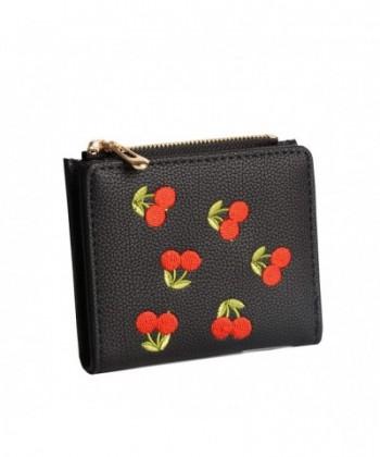 Nawoshow Wallet Cherry Pattern Holder