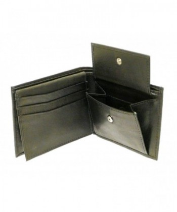 Black Leather Wallet Credit Cards