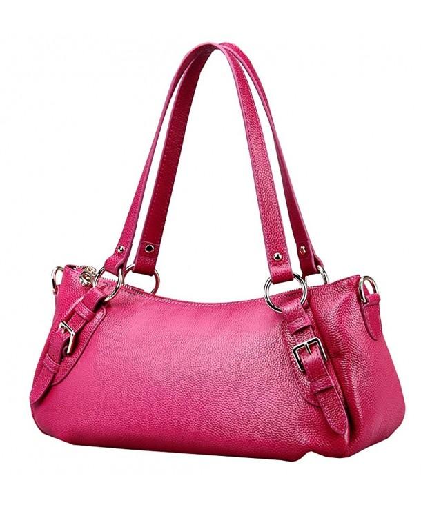 Vintage Leather Handbags Shoulder Fashion