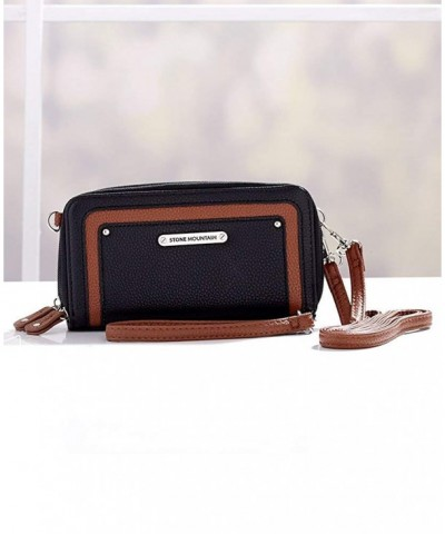 Lakeside Collection Mountain Leather Crossbody