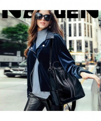 3819e65a59b0 Travel Backpack Purse for Women Convertible Leather Shoulder Weekender Bag  - CV18DNTYRW5