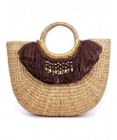 Friday Chic Straw Boho Basket