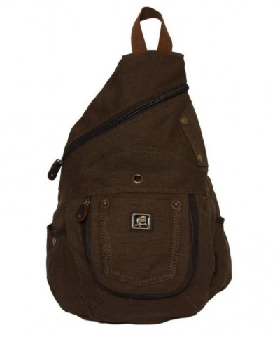 Vintage Sling Canvas Backpack Laptop