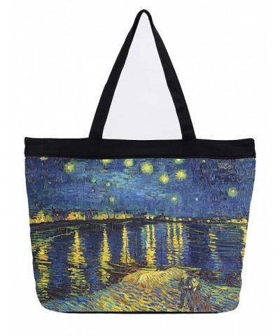 Van Gogh Over Rhone Tote