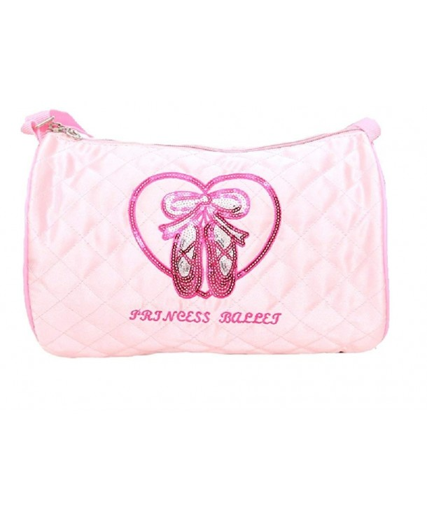 Quilted Glossy Ballet Duffle little