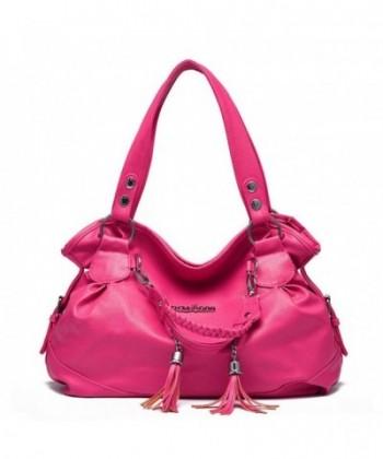 Hynbase Fashion Leather Handbag Shoulder