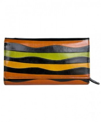 Womens Colorful Coated Genuine Leather