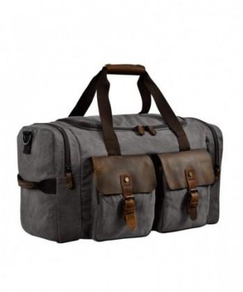 Kopack Travel Genuine Leather Weekender