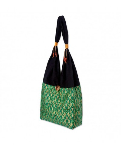 NOVICA Green Cotton Sling Emerald