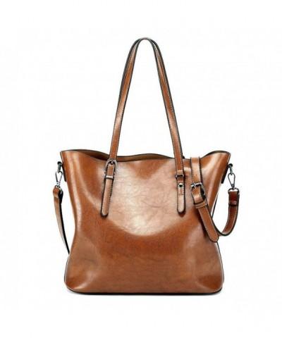 Vintage Leather Shoulder Handbags Satchels
