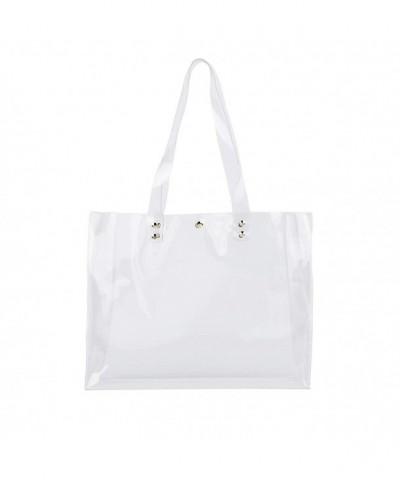 Multifunction Womens Shoulder Handbag Clear1
