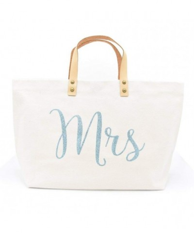 PumPumpz Mrs Bridal Canvas Tote