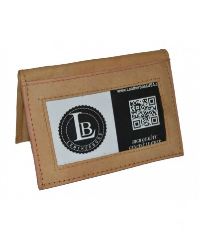 Leatherboss Credit Holder Wallet Outside
