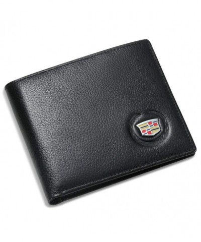 Cadillac Bifold Wallet Credit Window