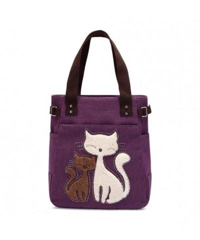 FXTXYMX Canvas Handbag Stylish Shoulder