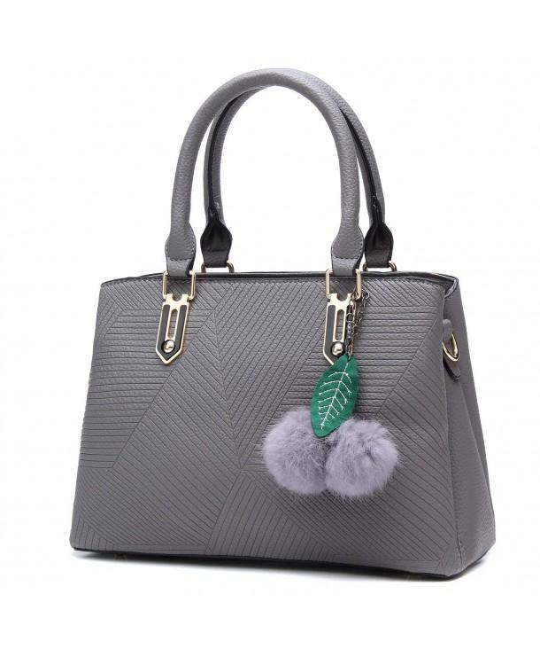 YINGPEI Womens Handle Satchel Handbag