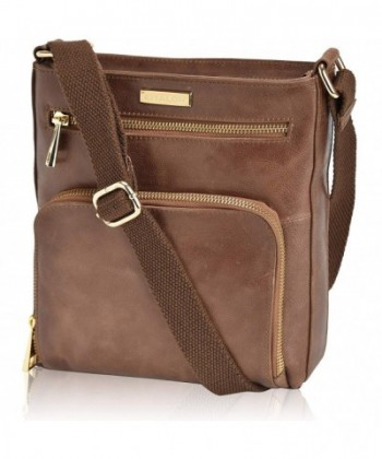 Premium Leather Crossbody Slim Women