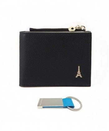 Womens Compact Bifold Leather Wallet