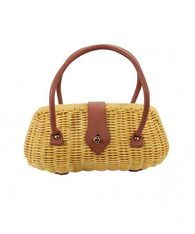 Banned Vintage Wicker basket Handbag