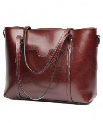Covelin Handbag Genuine Shoulder Capacity