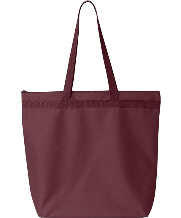 Liberty Bags Recycled Zipper Maroon