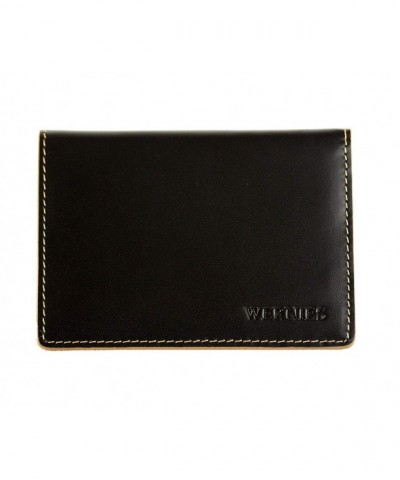 WERNIES Minimalist Genuine Leather Blocking