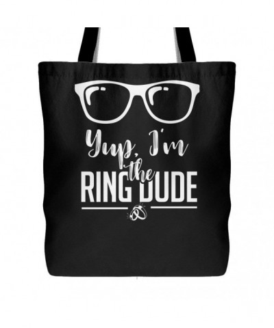 Yup Ring Dude Canvas Tote