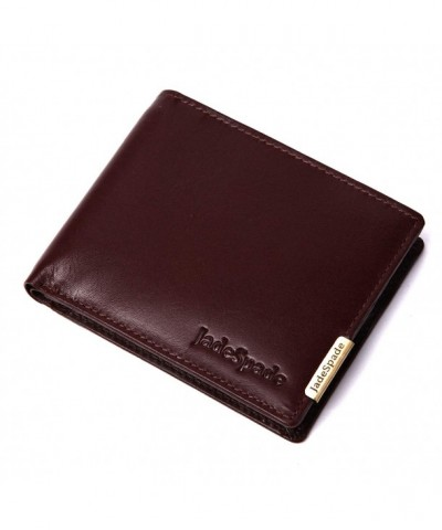 Jade Spade Bi Fold Leather Chocolate