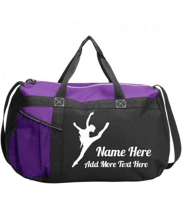 79e46d6a6338 Personalized Dance Class Bag: Gemline Sequel Sport Duffel Bag - Purple -  CB184THC7K3