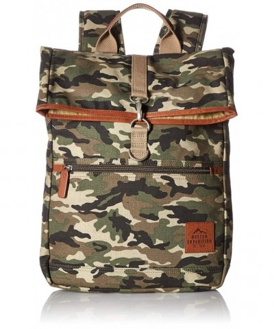 Buxton Expedition Huntington Fold Over Backpack