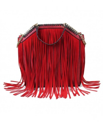SUI Euramerican Celebrity Fringe Handbag Shoulder