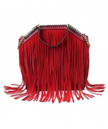 SUI Euramerican Celebrity Fringe Handbag Shoulder