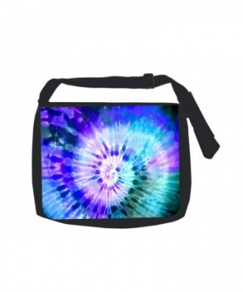 Blue Green Purple Print Design School Messenger