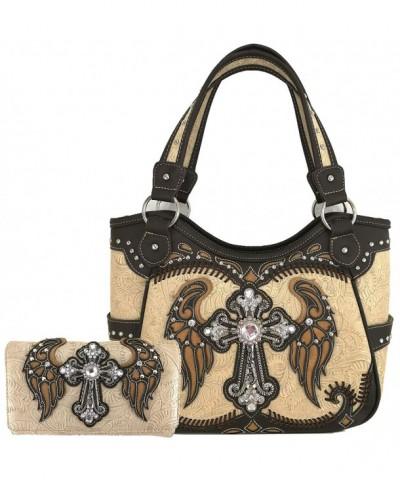 Western Rhinestone Concealed Handbag Shoulder