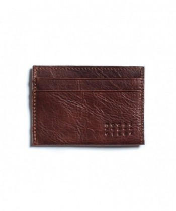Moore Giles Leather License Wallet