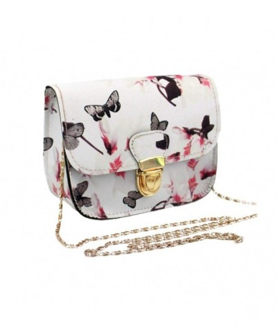Rokment Shoulder Butterfly Printing Messenger